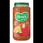 Olvarit 12m08 tomaat tonijn pasta
