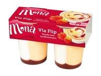 Mona Vlaflip Vanille Yoghurt Aardbei 300ml