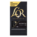 Douwe Egberts l'or Capsules Ristretto 10st