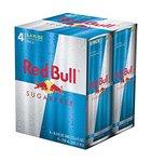 Red Bull Sugar Free 4x250ml