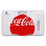 Coca Cola Light 6x33cl Blik