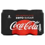 Coca Cola Zero 6x33cl Blik