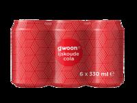 Gwoon Cola 6x33cl Blik